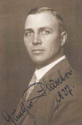 Lieutenant Gunther Pluschow